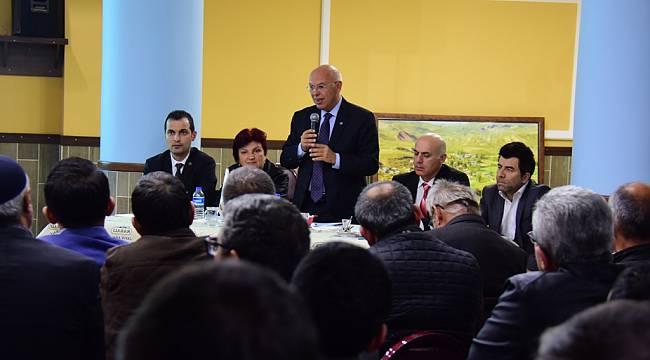 Başkan Eşkinat Halk Buluşmalarında Çınarlı Mahallesi Sakinleri ile Bir Araya Geldi