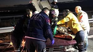 Ergene'de Feci Kaza, 1 Ağır Yaralı