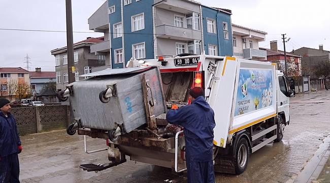 Ergene'de Her Gün 60 Ton Çöp Toplanıyor