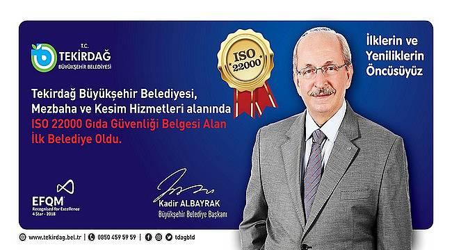 Tekirdağ Büyükşehir Belediyesi İlklerin Kenti