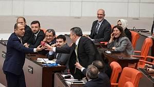 CHP'li Aygun Meclise Damga Vurdu