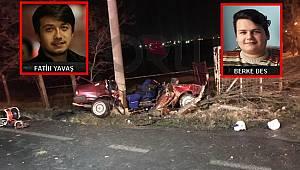 Ergene'de Feci Kaza, 2 Ölü 1 Yaralı