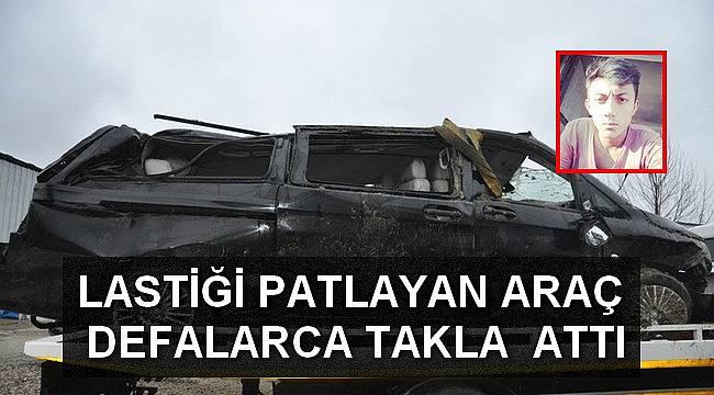 Malkara'da Feci Kaza, 1 Ölü 1 Yaralı