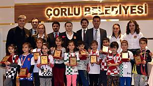 Satranç Tekirdağ İl Birinciliği Turnuvası Çorlu'da Düzenlendi