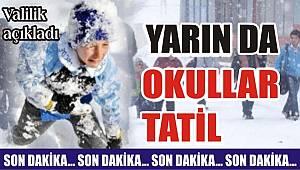 Tekirdağ'da Okullar Yarında Tatil