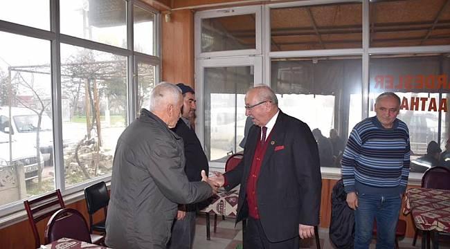 Başkan Albayrak Saray, Ergene ve Muratlı İlçelerinde Vatandaşlarla Bir Araya Geldi
