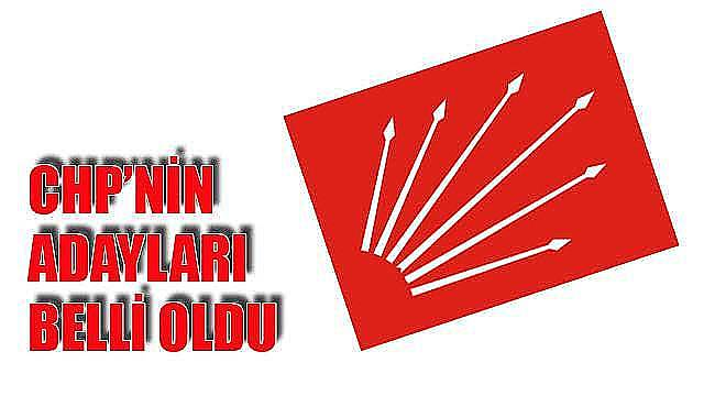 CHP'nin Tekirdağ Adayları Belli Oldu