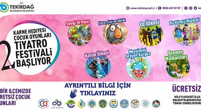 Çocuk Oyunları Tiyatro Festivali Perdelerini Açıyor