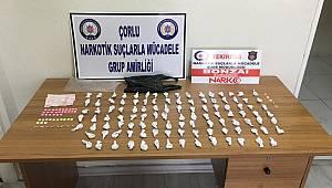 Çorlu Polisi Uyuşturucu Satıcılarına Göz Açtırmıyor