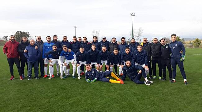 Ergene Velimeşespor Erbaa Spor Maçına Hazır