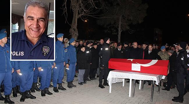 Hayatını Kaybeden Polis Memuru İçim Tören Düzenlendi
