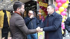 Cumhur İttifakının Adayı Serkan Erçili Hız Kesmeden Çalışıyor