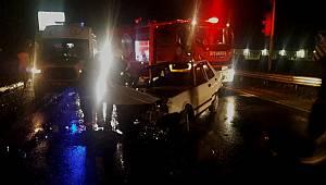 Ergene'de Kaza, 3 Yaralı