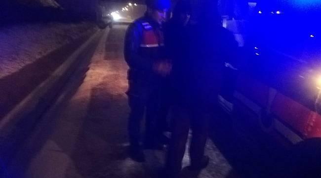 Jandarma Ekipleri Ölümden Döndü