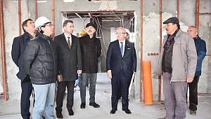 Şarköy Cemevi Tamamlanma Aşamasında