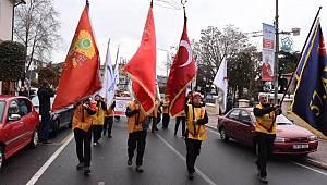 57. Alay Çanakkale'ye Doğru Yola Çıktı