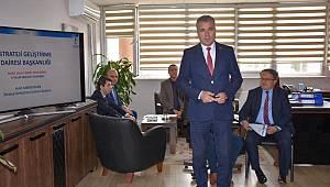 Başkan Albayrak TESKİ'de Bilgilendirme Toplantılarına Katıldı