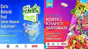 Çorlu Botanik Fest başlıyor
