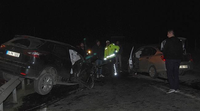 Feci Kazalar Peş Peşe Oldu, 1 Ölü 2'si Ağır 5 Yaralı