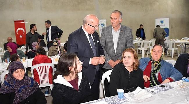 Başkan Kadir Albayrak Sahurda Vatandaşlarla Buluşmaya Devam Ediyor