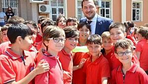 Çevreci Öğrencilerin Ödülünü Başkan Yüksel Verdi