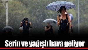 Dikkat! Serin ve Yağışlı Hava Geri Geliyor