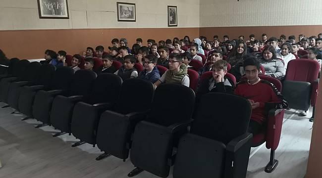 Ergene'de Öğrenciler Geri Dönüşüm Hakkında Bilgilendirildi