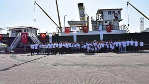 Tekirdağ Büyükşehir Belediyesi'nden Samsun'a 100 Yıl Çıkartması