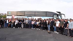 Tekirdağlı Gençler Milli Mücadele'nin 100. Yılında Samsun'da