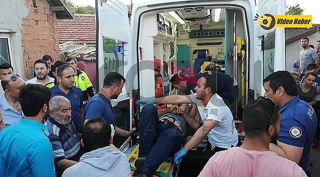Yakalanan Suçluları Kaçırmak İçin Otomobille Polisleri Ezdi, 3 Yaralı