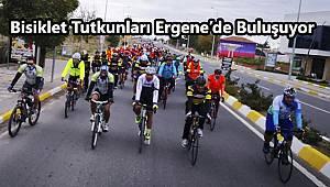 Bisiklet Tutkunları Ergene'de Buluşuyor