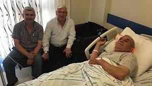 Ergene Belediye Başkanı Rasim Yüksel Hastalara Moral Ziyaretinde Bulundu