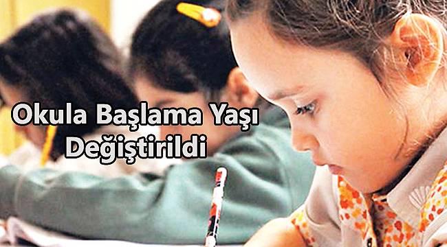 Okula Başlama Yaşı Değiştirildi