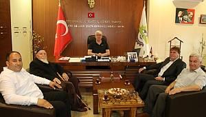 Radoviş Belediye Başkanından Ergene Belediye Başkanı Rasim Yüksel'e Ziyaret