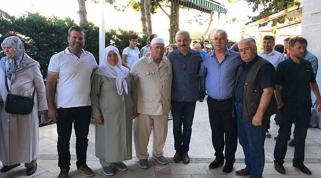Başkan Yüksel Hacı Adaylarını Kutsal Topraklara Uğurladı
