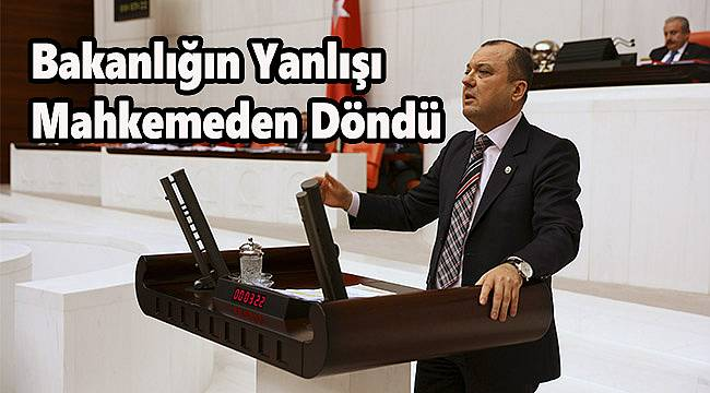 """CHP'li Aygun, """"Bakanlığın Yanlışı Mahkemeden Döndü"""""""