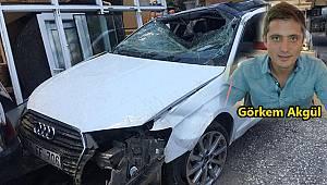 Emniyet Kemeri Takmadı Camdan Fırladı, 1 Ölü 1 Ağır Yaralı