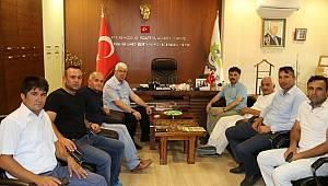 Tokat Sulusaray Belediye Başkanından Başkan Yüksel'e Ziyaret