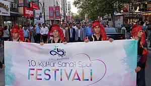 10. Kültür, Sanat ve Spor Festivalimiz Başladı