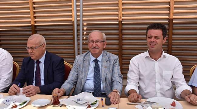 Başkan Kadir Albayrak Çorlu'da İncelemelerde Bulundu