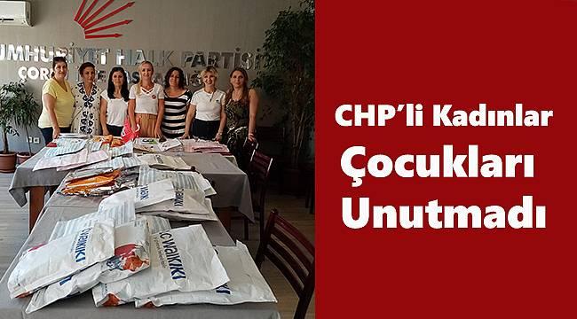 CHP'li Kadınlar Çocukları Unutmadı