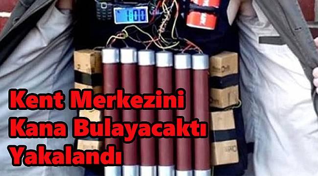 Kent Merkezinde Canlı Bomba Yakalandı