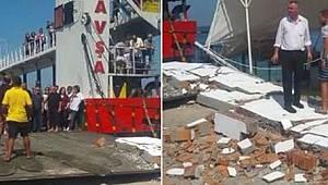Tekirdağ'dan Kalkan Feribot Kaza Yaptı, 7 Yaralı