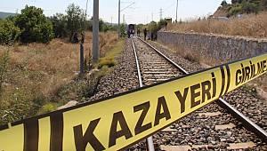 Yolcu Treninin Çarptığı Çoban Hayatını Kaybetti