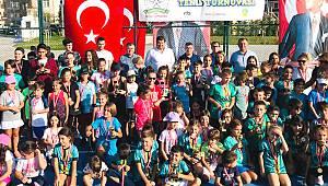 3. Çorlu Yıldızlar Tenis Turnuvası Sona Erdi