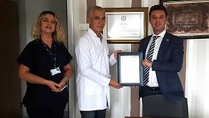 Başkan Sarıkurt'tan Hastanelere Teşekkür Ziyareti