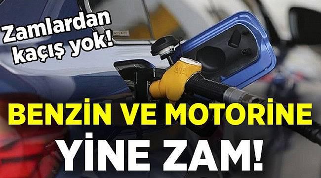 Benzin ve Motorine Yine Zam Geldi!