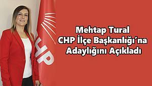 CHP İlçe Başkanlığı'na Adaylığını Açıkladı