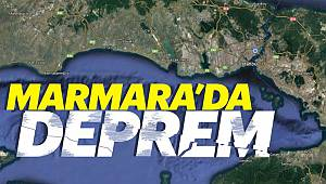 Marmara'da 4.1 Büyüklüğünde Deprem