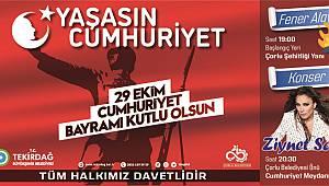 Tekirdağ 29 Ekim Cumhuriyet Bayramı Coşkusuna Hazırlanıyor